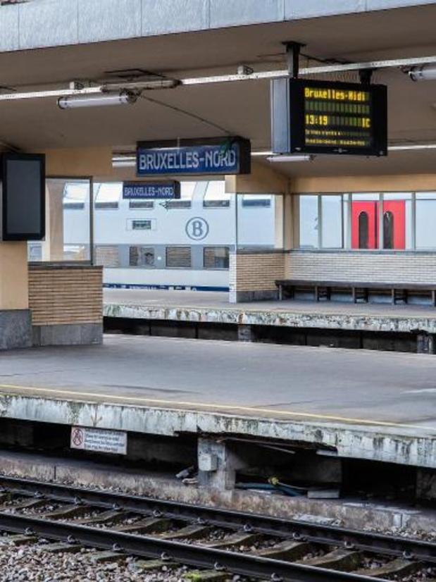 De nouvelles perturbations à prévoir sur le rail en raison de travaux à Bruxelles-Nord