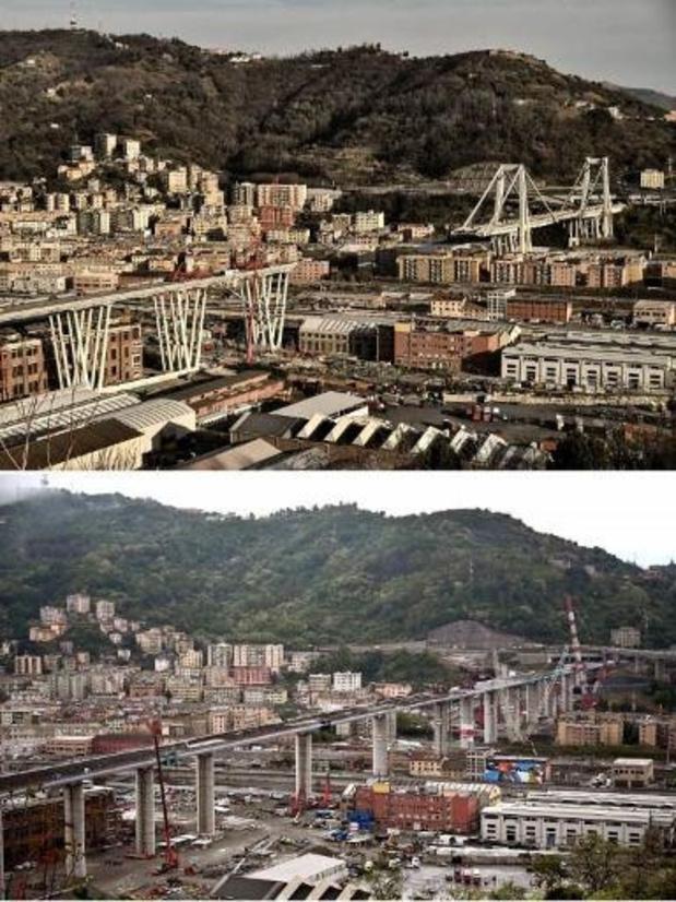 Gênes inaugure son nouveau pont, deux ans après un effondrement meurtrier
