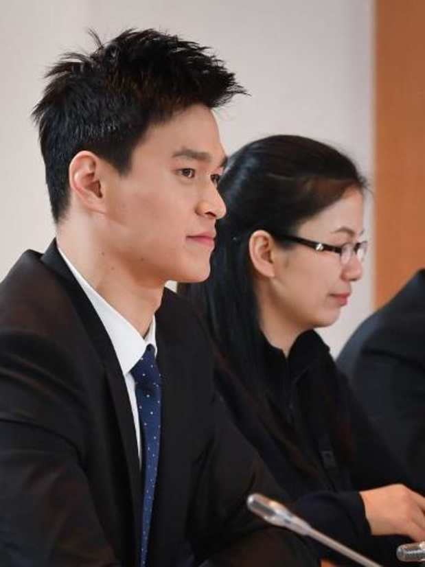 Dopage: le nageur chinois Sun Yang a fait appel de sa suspension