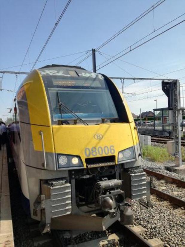 Treinen rijden donderdag weer op de as Charleroi-Walcourt