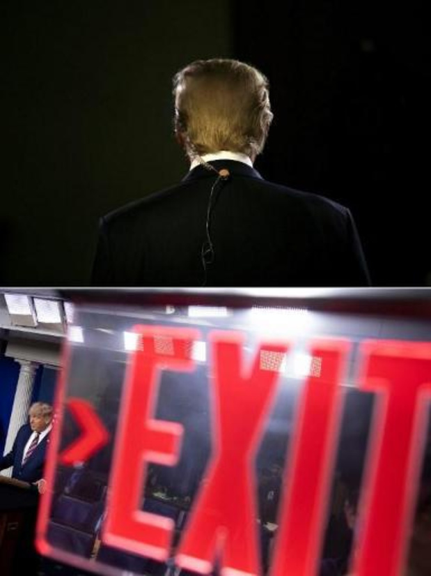 Amerikaanse presidentsverkiezingen - Trump weigert nederlaag toe te geven
