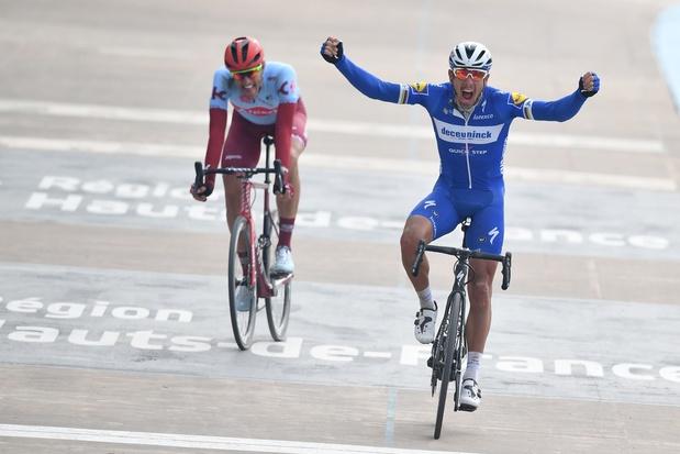 Philippe Gilbert schrijft Parijs-Roubaix op zijn naam