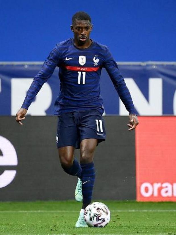 La Liga - Ousmane Dembélé vier maanden buiten strijd na knieoperatie