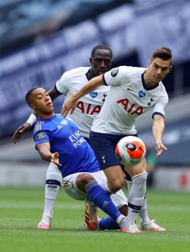 Les Belges à l'étranger - Battu 3-0 à Tottenham, Leicester risque de perdre sa place en Ligue des Champions
