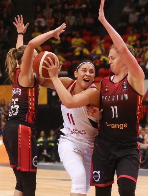 OKT basket (v) - Belgian Cats delven het onderspit in thriller tegen Canada