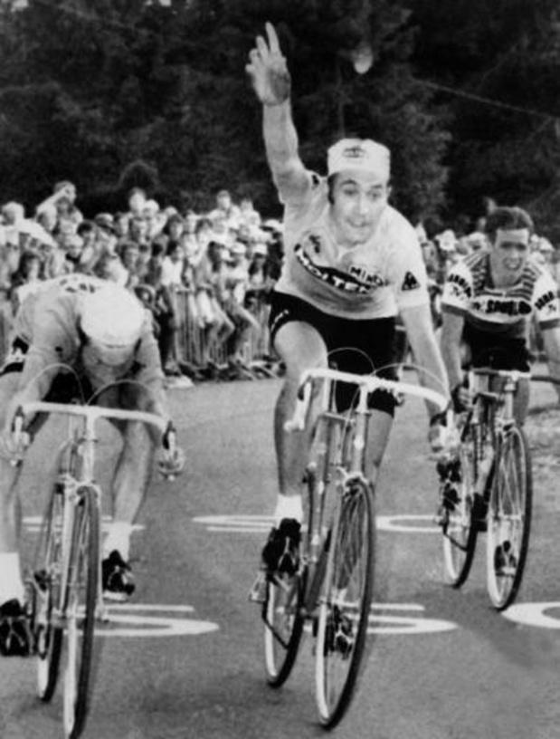 Eddy Merckx meilleur cycliste de grands tours de tous les temps pour les fans d'Eurosport