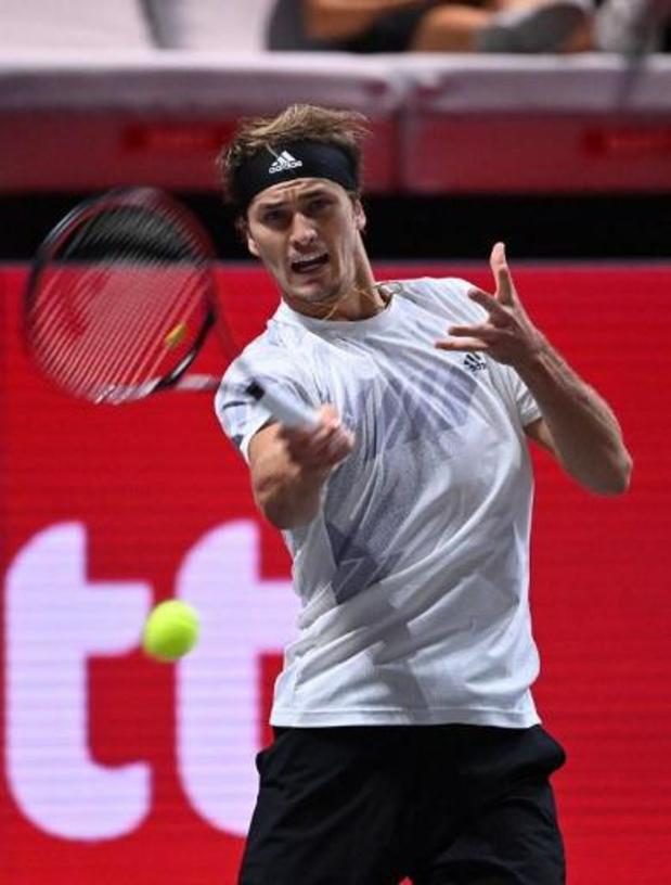 ATP Keulen - Alexander Zverev stoot door naar finale