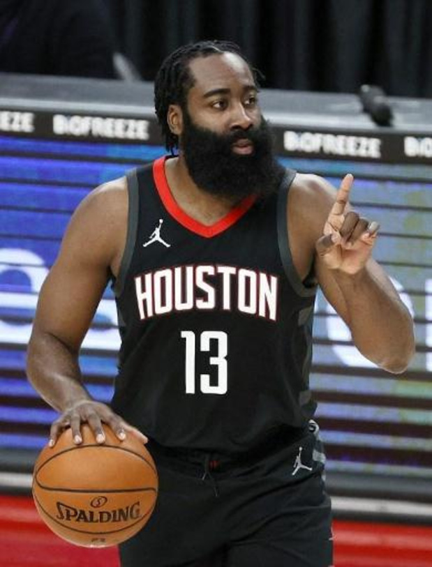 NBA - La star de Houston James Harden transférée à Brooklyn