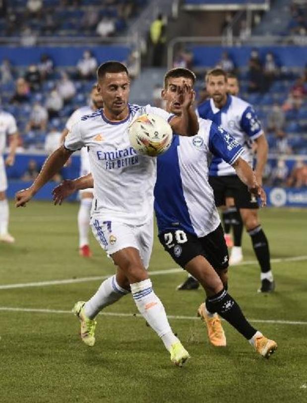 Les Belges à l'étranger - Eden Hazard à la passe pour une victoire du Real Madrid en ouverture