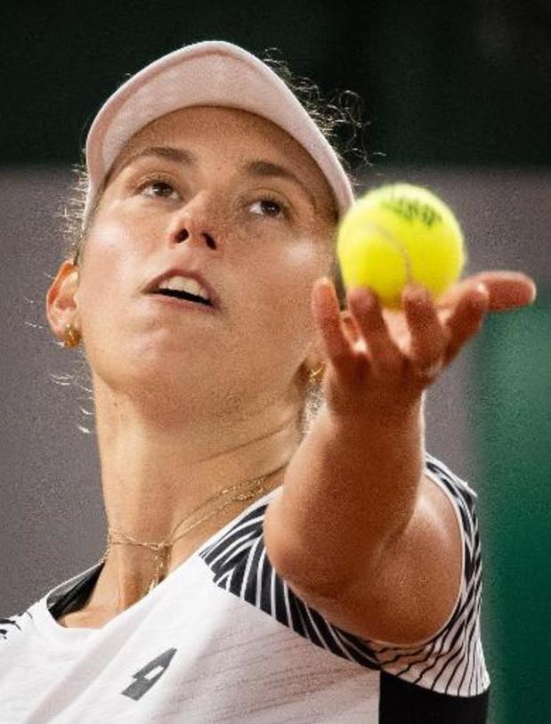 Elise Mertens rejoint le 2e tour du simple du WTA d'Ostrava