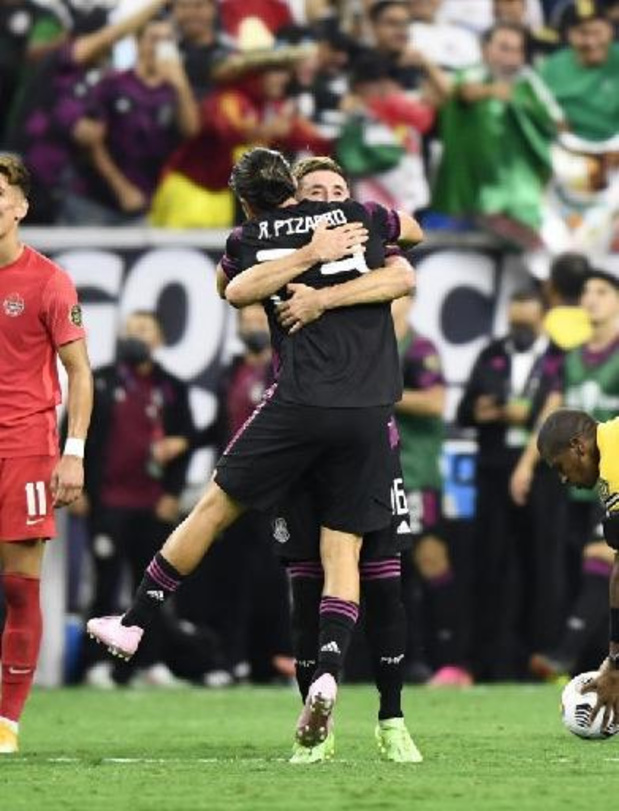 Verenigde Staten en Mexico spelen finale