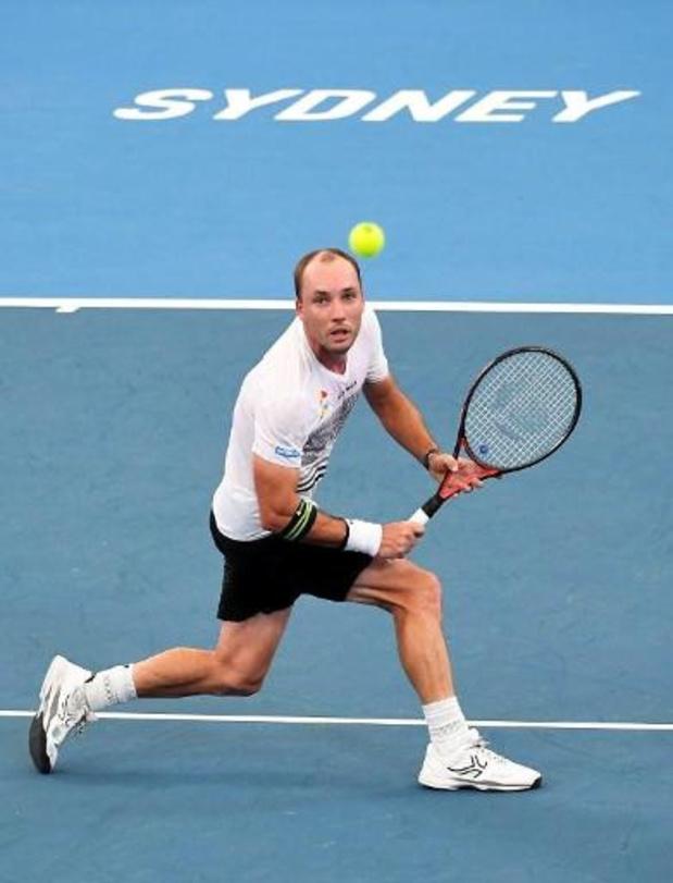 ATP Cup - Steve Darcis bat Cameron Norrie, la Belgique mène 1-0 face à la Grande-Bretagne
