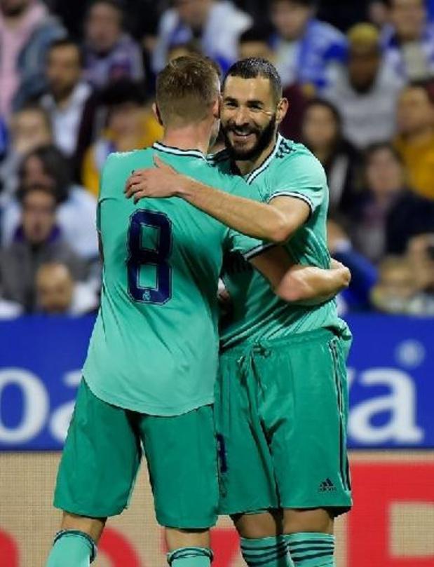 """Il n'y avait """"pas de raison sportive"""" à l'absence de Benzema, estime Toni Kroos"""