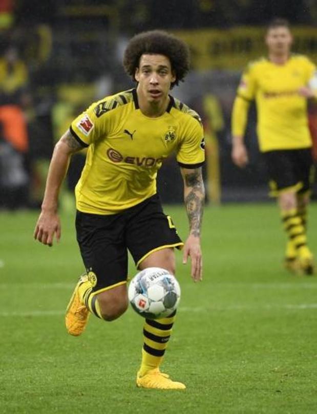 Axel Witsel devrait faire son retour avec Dortmund mardi face au Bayern Munich