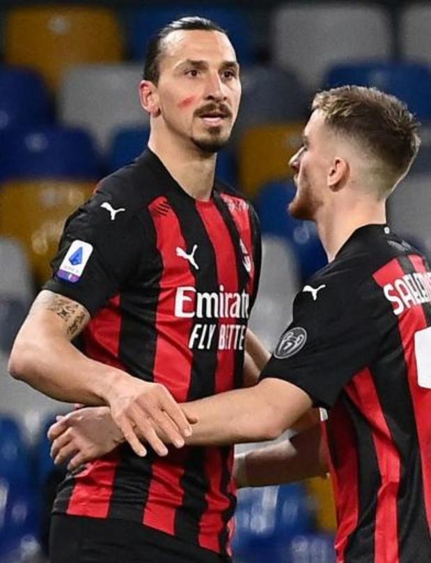 Saelemaekers ziet Ibrahimovic 500e doelpunt scoren