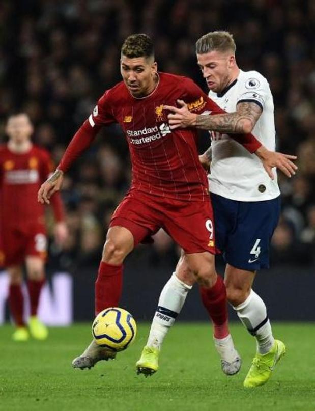 Les Belges à l'étranger - Liverpool signe à Tottenham (avec Alderweireld) son 20e succès en 21 matchs
