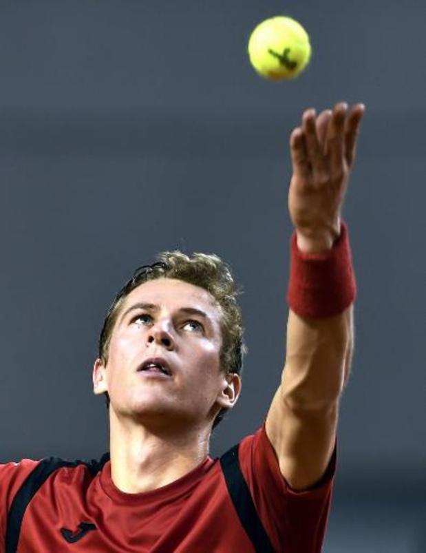 Coupe Davis - Kimmer Coppejans battu, la Hongrie revient à une victoire partout contre la Belgique