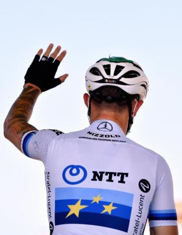 Giacomo Nizzolo geeft op in eerste bergetappe Tour de France