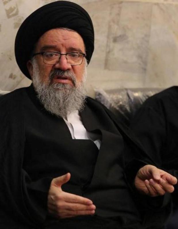Geestelijke eist in Iran doodstraf voor leiders van betogingen