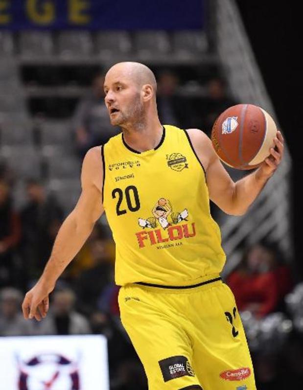Ostende joue son match décisif des huitièmes de finale mercredi en Ligue des Champions de basket