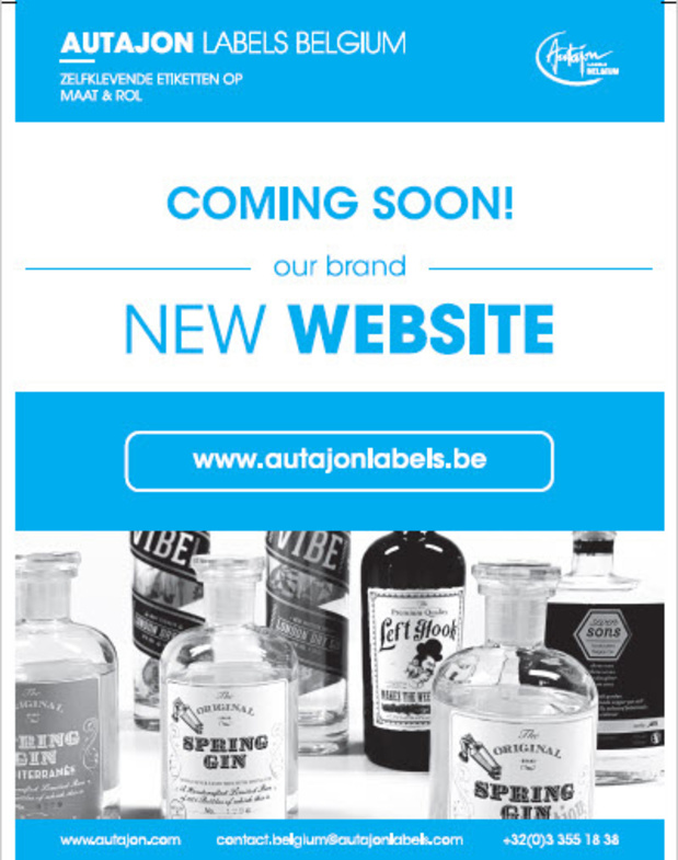 Autajon Labels Belgium gaat zijn website nog gebruiksvriendelijker maken