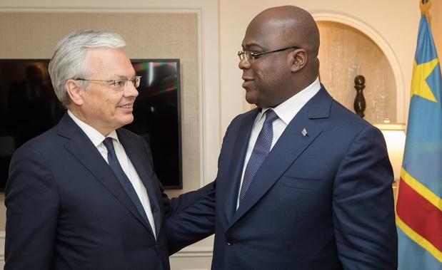 Reynders ontmoet controversiële nieuwe president Congo: 'We moeten pagina verkiezingen omslaan'