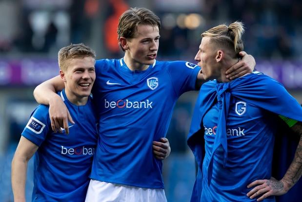 Genk loopt opnieuw vier punten uit op Club Brugge na verdiende zege