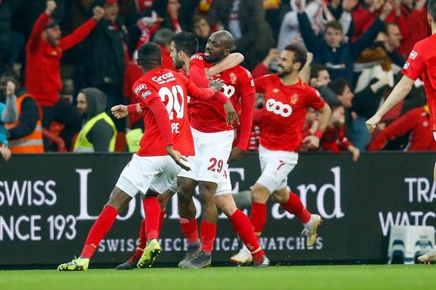 Le Standard s'offre l'Antwerp en ouverture des playoffs 1