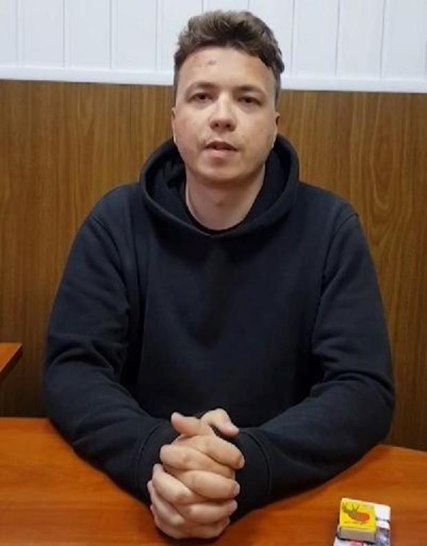 Crisis Wit-Rusland: VN menen dat Roman Protasevitsj slachtoffer van illegale overbrenging is
