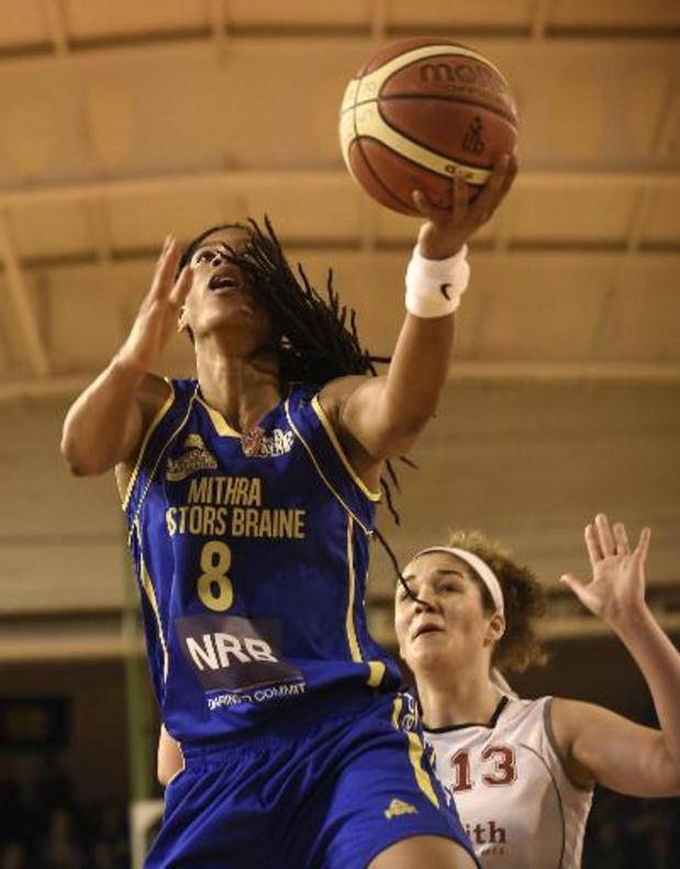 Euroleague basket (v) - Europees avontuur Castors Braine zit erop na nederlaag tegen Praag