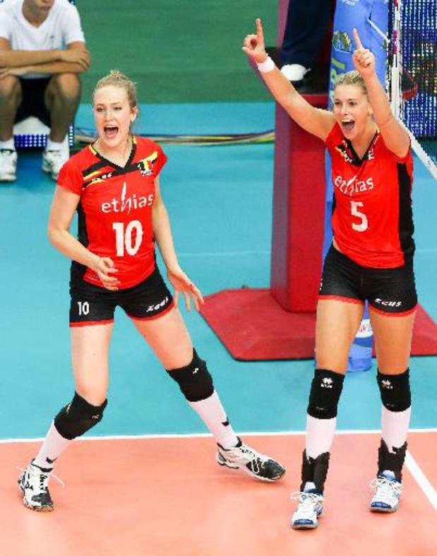 Lise Van Hecke en Laura Heyrman steken met Monza eindzege CEV Cup volley op zak