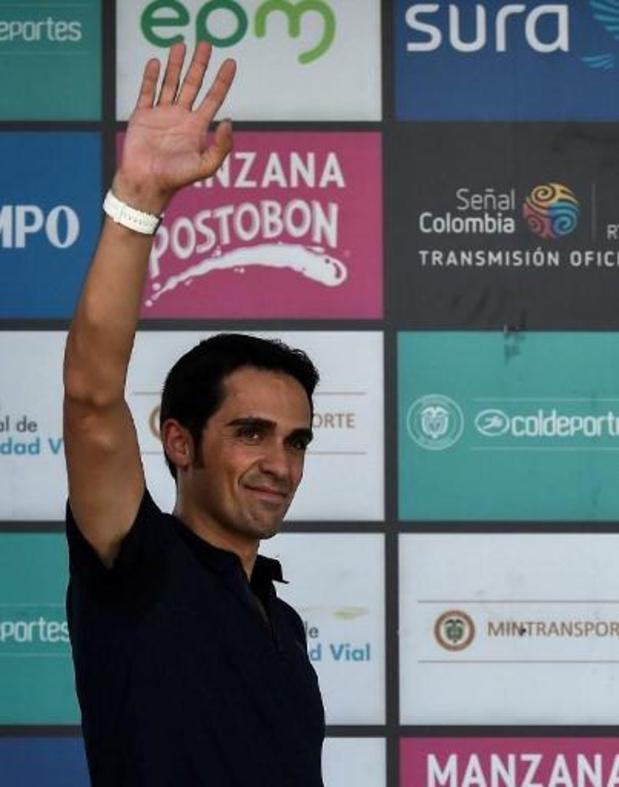 Contador veilt zijn fiets uit Giro en Tour van 2011