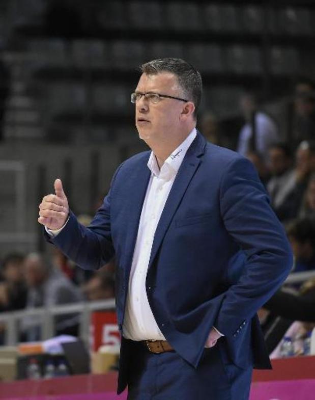 EuroMillions Basket League - Charleroi beëindigt samenwerking met Pascal Angillis