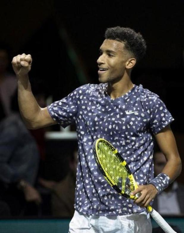 ATP Cincinnati - Felix Auger-Aliassime remporte le premier match ATP depuis mars