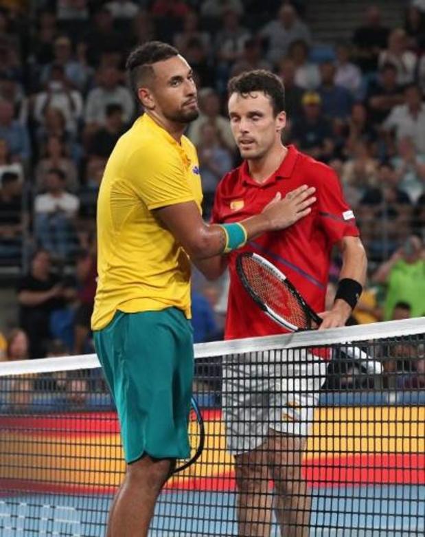 L'Espagne domine l'Australie et rejoint la Serbie en finale de l'ATP Cup