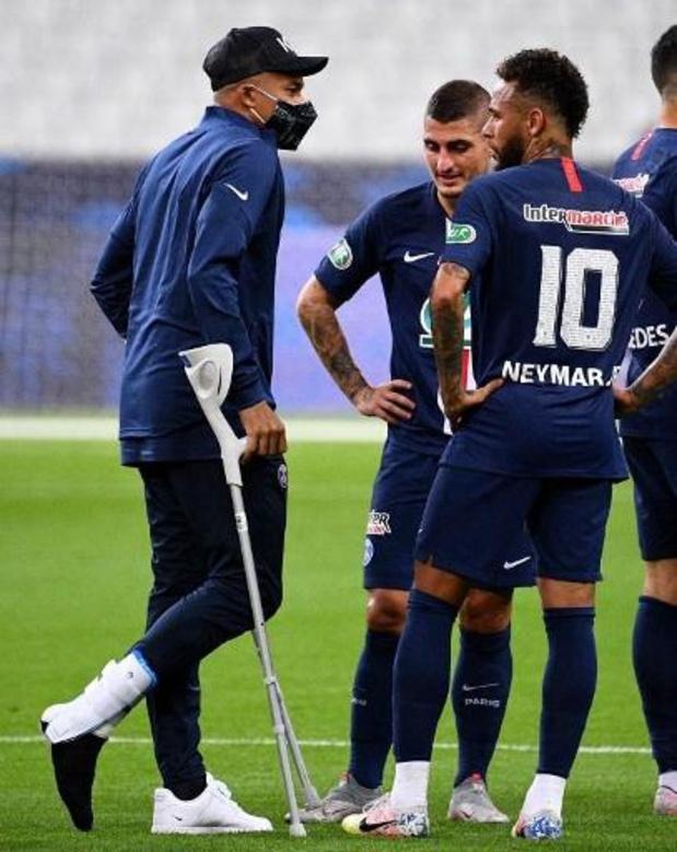 Entorse pour Kylian Mbappé, incertain pour la Ligue des champions