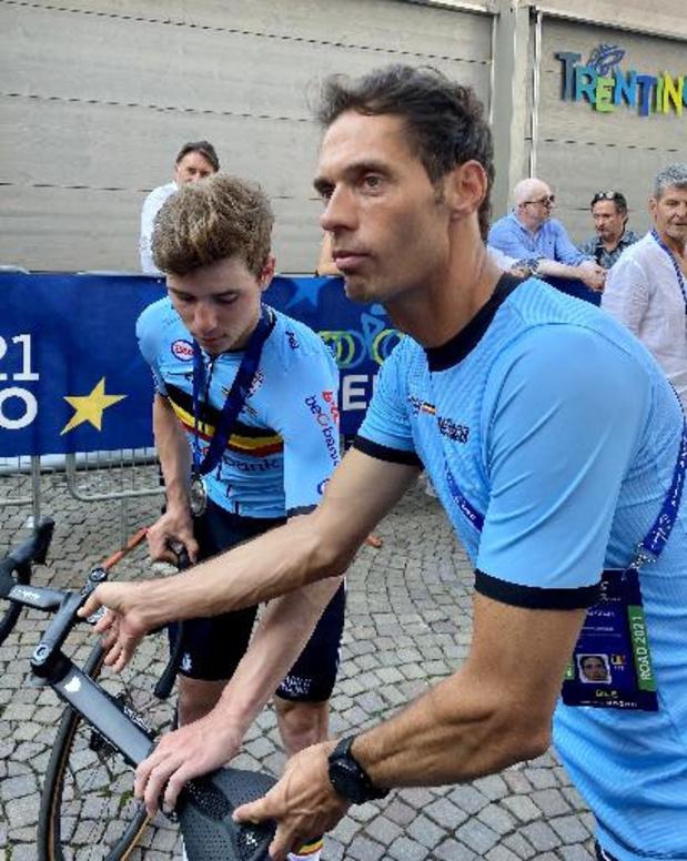 """EK wielrennen - Vanthourenhout: """"Ik hoop dat Colbrelli deze titel stevig viert"""""""