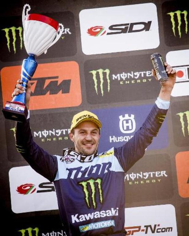 """WK motorcross - GP van Garda Trentino - Clément Desalle zet motor op stal: """"heel fier op mijn carrière"""""""