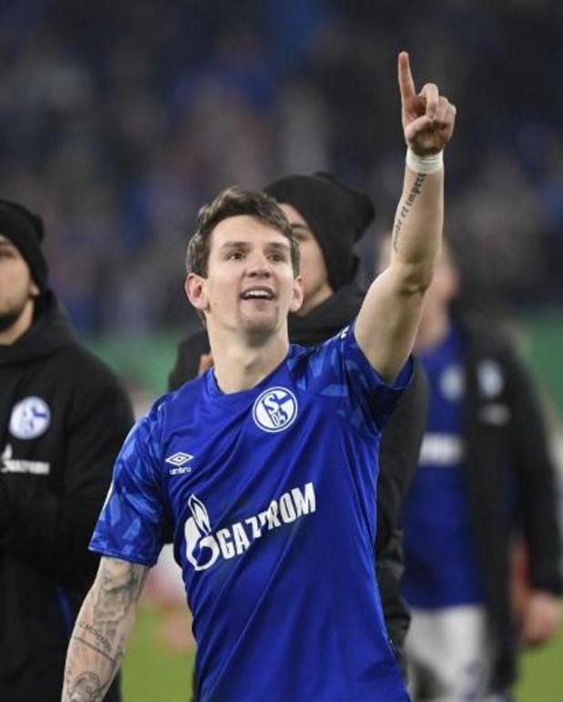 Les Belges à l'étranger - Blessé au dos, Benito Raman (Schalke 04) va manquer le duel contre Leverkusen