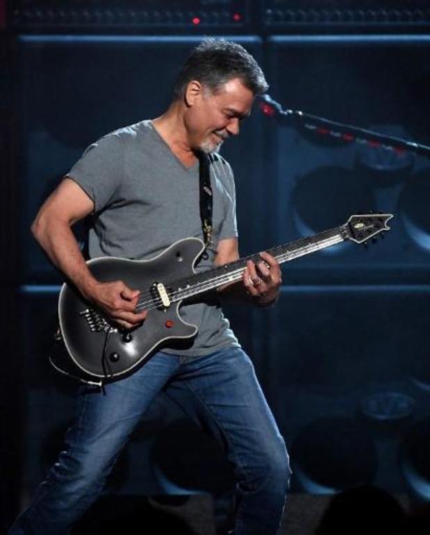 Eddie Van Halen, fondateur du groupe de hard rock du même nom, est décédé