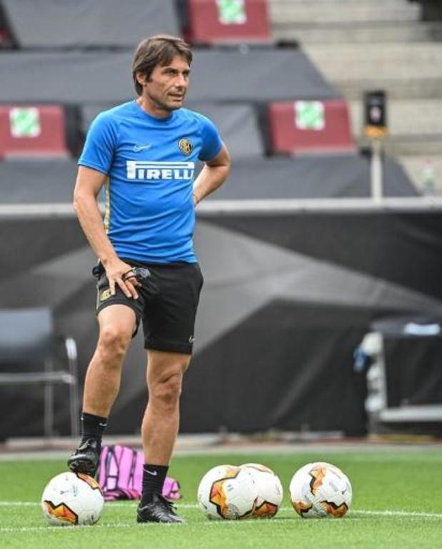 Antonio Conte reste sur le banc de l'Inter Milan