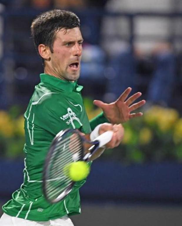 ATP Cincinnati - Novak Djokovic, touché au cou, forfait pour le double