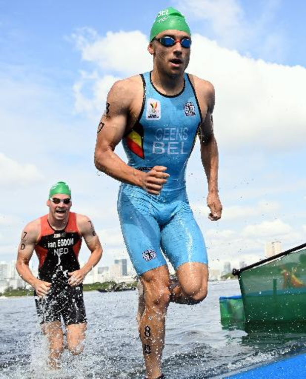Triathlon à Montréal : Jelle Geens, blessé à Montréal et opéré au poignet, où Van Riel termine 4e