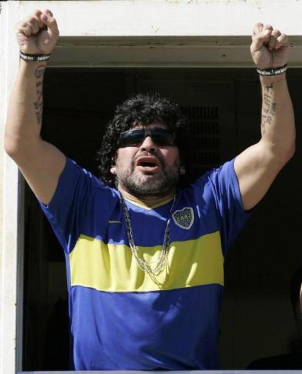 Maradona overleden - Wedstrijd Boca Juniors in Copa Libertadores uitgesteld
