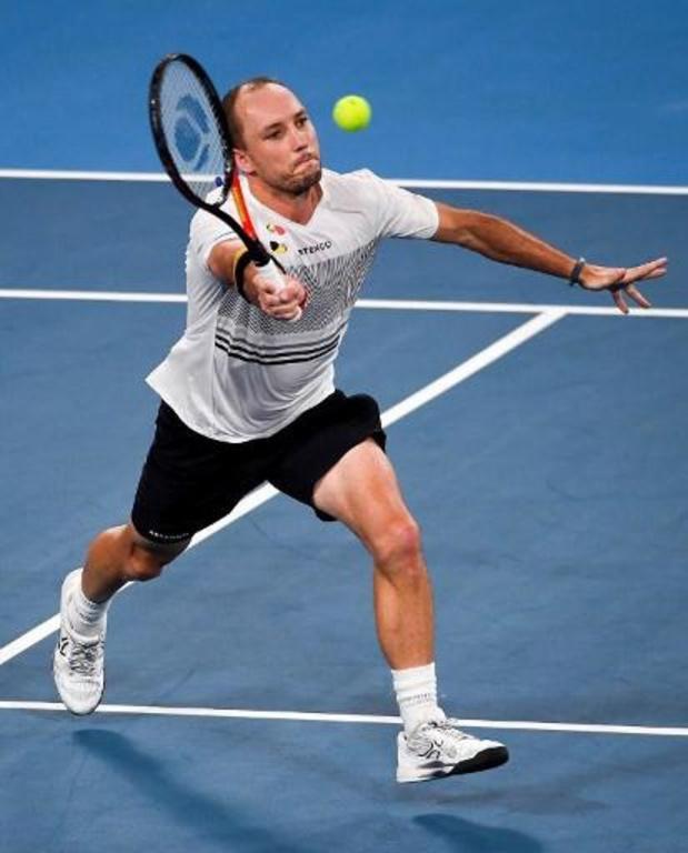 Vijf Belgen kennen hun tegenstander in kwalificaties Australian Open