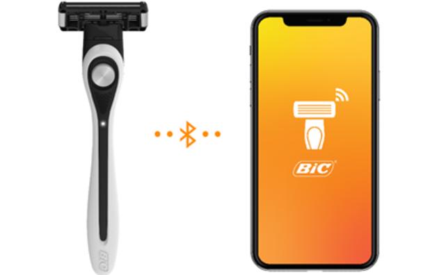 BIC toont eerste scheermes met artificiële intelligentie