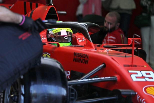 Premiers tours de roue en F1 pour Mick Schumacher (vidéo)