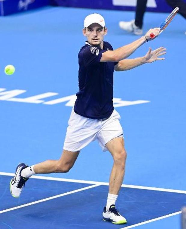 Goffin start met duel tegen kwalificatiespeler in tweede ronde ATP Parijs