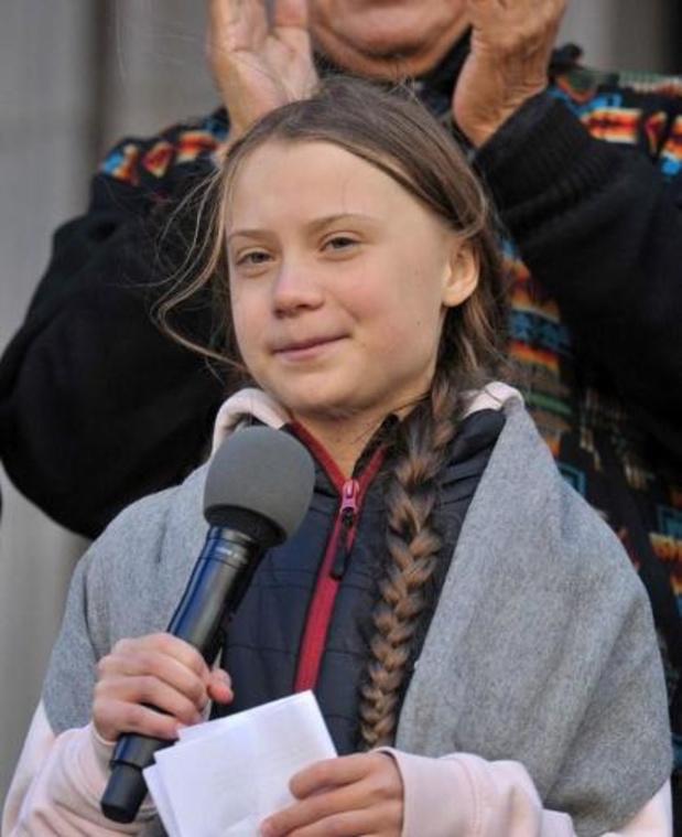 Greta Thunberg en attente de plus d'information sur l'annulation de la COP25 au Chili