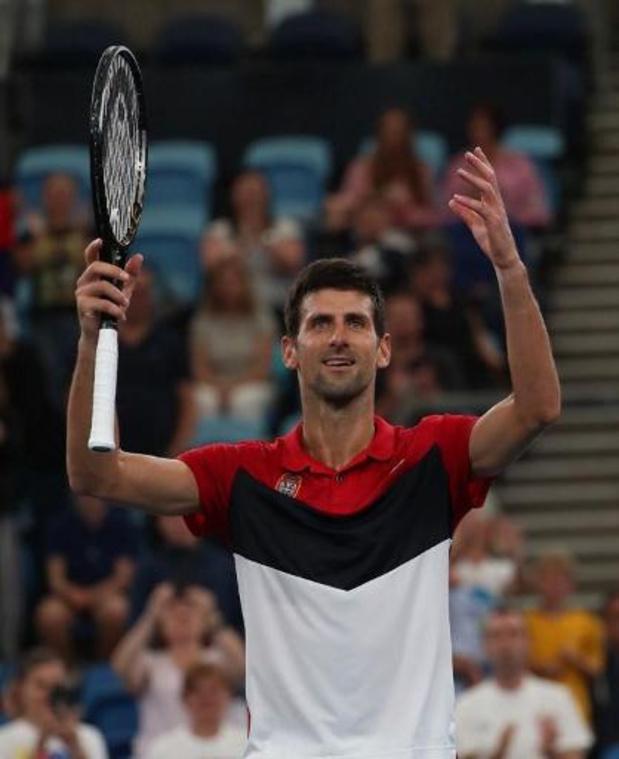 ATP Cup - Servië is eerste finalist